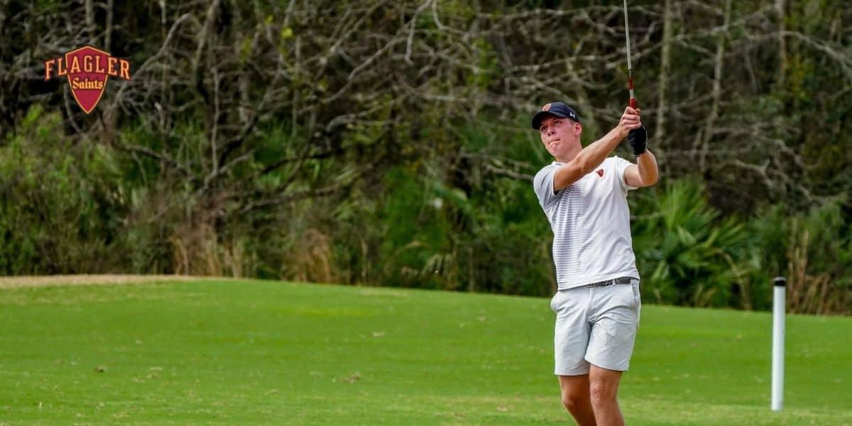 Henry plays Golf at Flagler